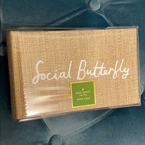 "Kate Spade Social Butterfly Photo Album 4""x6"""